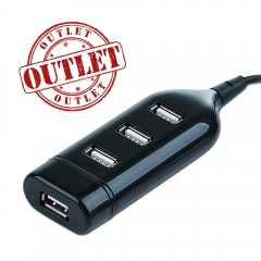 USB 2.0 mini-size hub Outlet